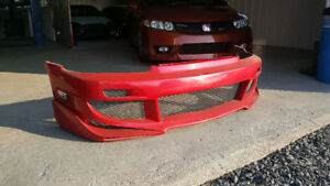 Body Kit Wings West Civic 92-95 Hatchback