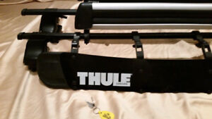 Thule Audi A3 Roof Rack System with Thule Ski/ Snowboard