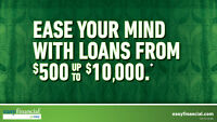 Unsecured Loans $500 to $10 000