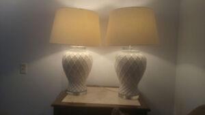 Table lamp: pair