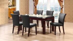 GRANITE DINING TABLE SET (ME2238)