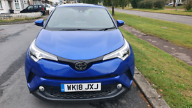 2018 TOYOTA CHR 1.2 T PETROL AUTOMATIC. MILEAGE 19K. IMMACULATE