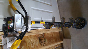 """Jiffy 8"""" ice auger"""
