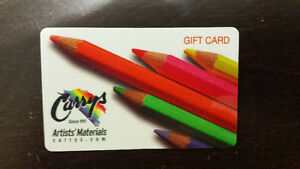 Curry's Artists' Store gift card -VALUE $200- SELLING FOR $160