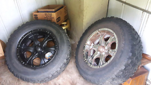 LT265/70/R17 tires and rims