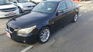 2006 BMW 525I BLACK on BLACK certify,etest,free car proof