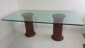 Glass Kitchen/Dining Table (Large)