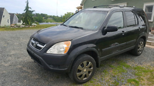 2004 CRV  AWD  standard shift TO REDUCED to $1950