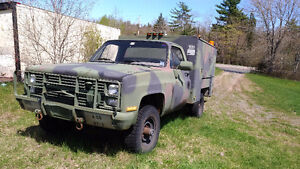 1986 Chevrolet K30 / CUCV M1028 Contact Maintenance