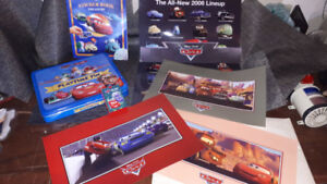 Disney Cars, collectible posters and items