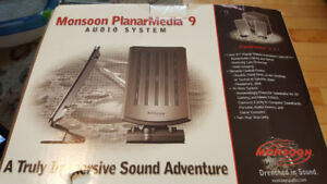 Monsoon PlanarMedia 9 audio system for your computer