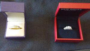 Diamond Wedding set (Complete Husband/Wife Set)