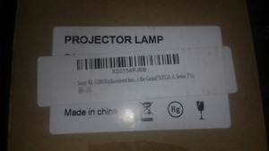 2 Sony XL - 5200 Replacement Lamps