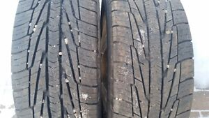 2-195/60x15 goodyear M+S tires on 4x114.3 alloy rims Hyundai