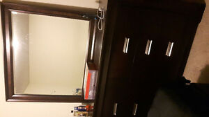 Large Dresser and night stand-550 OBO