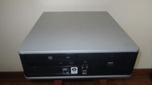 HP Desktop Dual Core With Fresh Windows 7 and Warranty