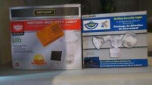 BRAND NEW--HARDWIRE MOTION SECURITY LIGHT