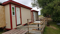 Cozy cabins on Lesser Slave lake