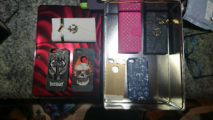 IPhone 5 cases asorted