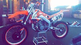 PRICE DROP ££2100 Honda cr 250 2 stroke LIKE NEW/ not (ktm rmz crf yzf husky)
