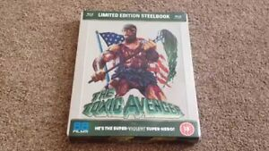 BLU-RAY! THE TOXIC AVENGER LIMITED EDITION STEELBOOK