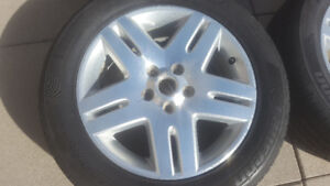 GM 5 spoke (double) aluminum rims from a Chevrolet Impala