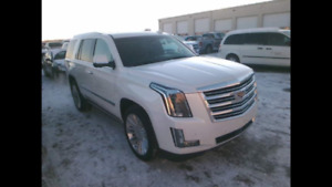 2016 Cadillac Escalade Platinum will assist with Financing