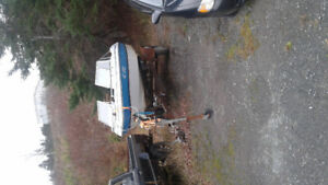15 1/2 foot bowrider motor and trailer