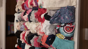 0 to 6 month baby girl clithing- over 100 fall and winter items