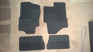 Brand New 2011 GMC Sierra winter all weather rubber mats