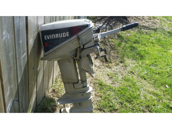 Used 1989 Evinrude 9.9hp outboard