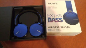 Sony MDR XB650BT Wireless headphones