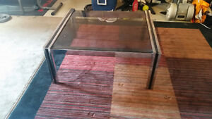 Tinted Glass Top Coffee Table