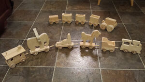 Hand made toy trains and cars Cambridge Kitchener Area image 1