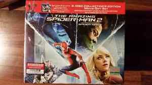 Amazing Spider-Man Blu-ray movie gift set with statue Electro
