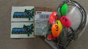 NEW Set Radicull Cull Marker Bass Walleye Fishing Boat Livewell