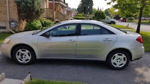 2007 Pontiac G6 Sedan - LOW KMS !!!!