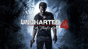 I want Uncharted 4