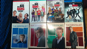 season series - House, Mentalist also Star Trek VHS movies