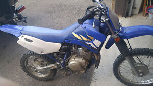 Yamaha TT-R 125cc 2003 in excellent condition