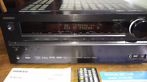 Onkyo HT-RC360 7.2 Channel Network A/V Receiver, 4K - NO SOUND