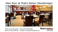 Italian LIne Cook - Richmond Hill & Woodbridge locations