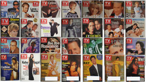 TV Guide Magazines - 1997 to 1999