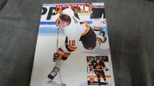 Beckett Hockey Monthly 1992(Pavel Bure cover)