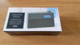 DAB and FM Radio. Brand New.