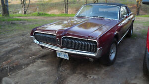 1968 mercury cougar project XR7