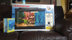 Complete Led Aquarium kit 10 gallons
