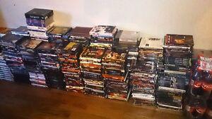 Lot de 640 DVDs à vendre