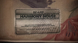 Single Sears Foam Mattress