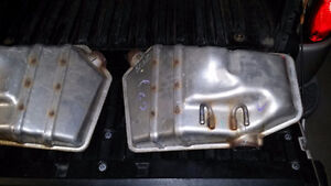 2  - 2013 Chevrolet Camaro Mufflers, Left and Right. $400  OBO